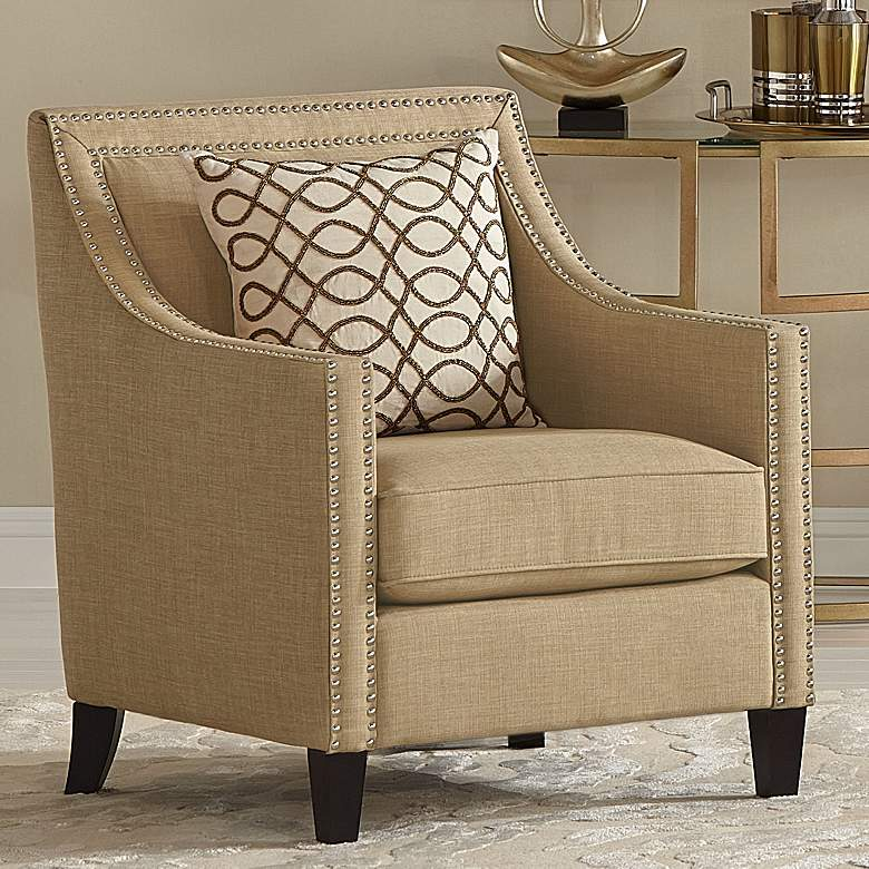 Flynn Heirloom Camel Upholstered Armchair
