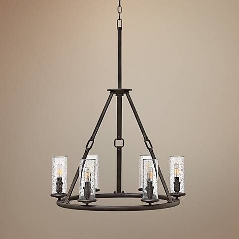 "Hinkley Dakota 26 1/2"" Wide Oil-Rubbed Bronze Chandelier"