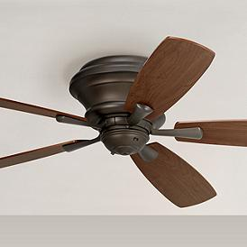 52 Casa San Marin Oil Rubbed Bronze Hugger Ceiling Fan