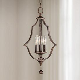 Wrought Iron Mini Chandelier Chandeliers 1 Results Crystorama Parson 11 Wide English Bronze Pendant