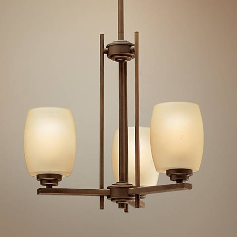 "Kichler Sabina 18 1/2"" Wide Three Light Up-Down Chandelier"