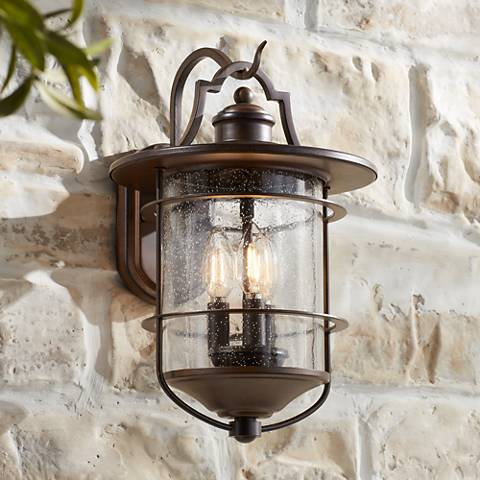 Franklin Iron Works Casa Mirada 16 1 4 Quot High Outdoor Light