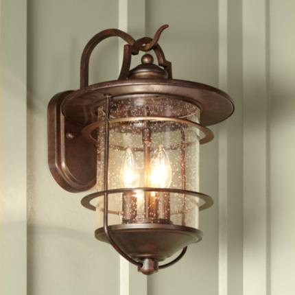 Franklin Iron Works Casa Mirada Outdoor Lights Collection