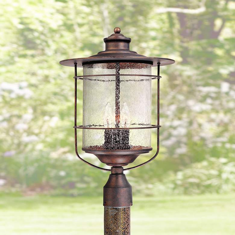 "Casa Mirada 19 3/4"" High Bronze 3-Light Outdoor"