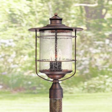 "Casa Mirada 19 3/4"" High Bronze 3-Light Outdoor Post Light"