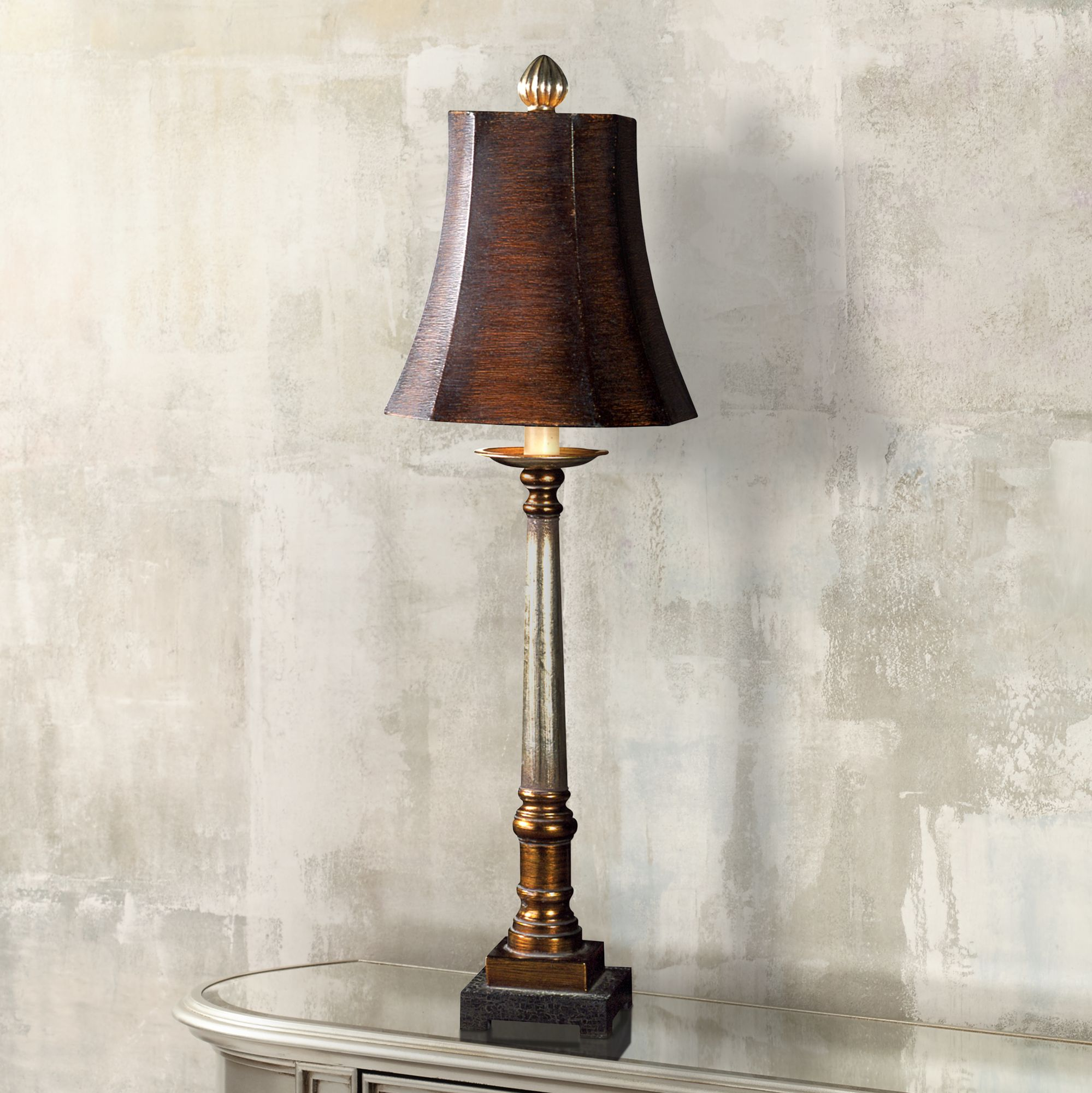 Charmant Uttermost Trent Buffet Table Lamp