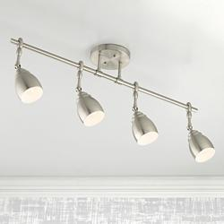 Pro Track® Elm Park Brushed Nickel 4-Light Track Fixture