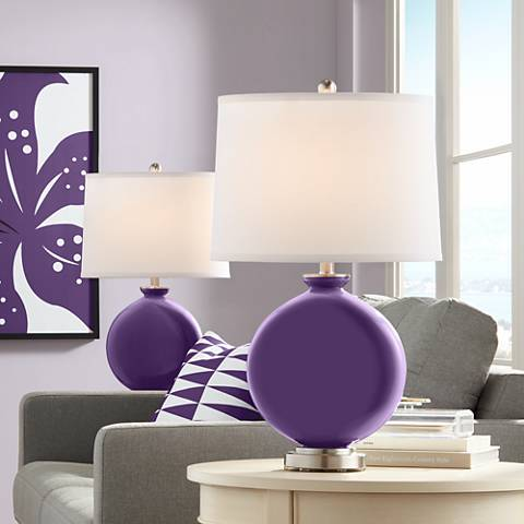 Acai Carrie Table Lamp Set of 2