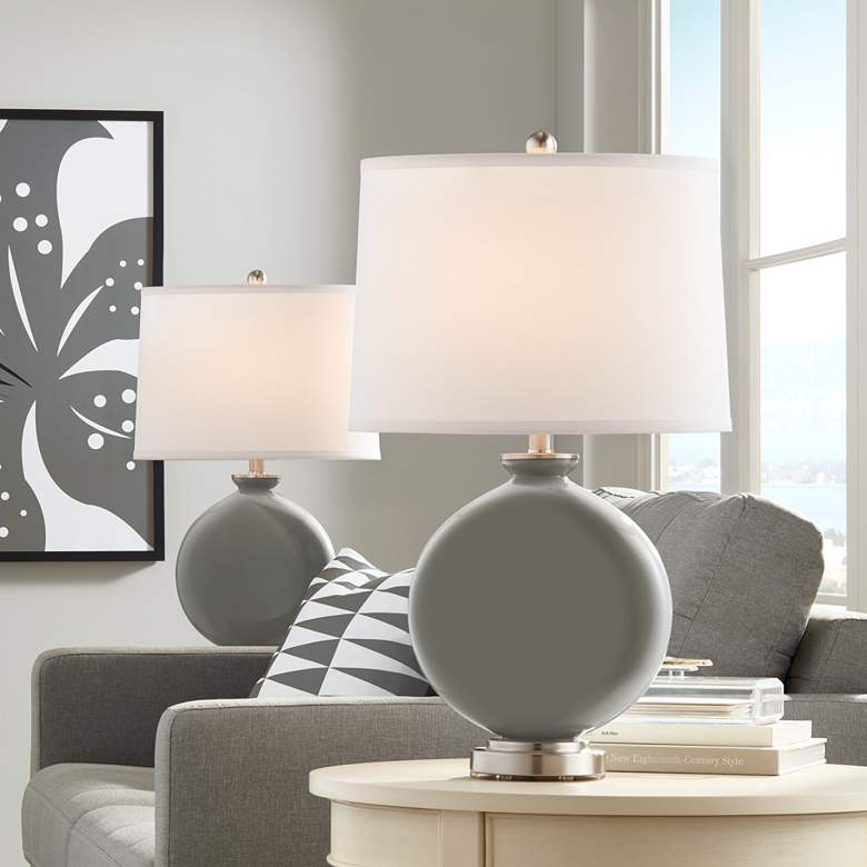 Gauntlet Gray Carrie Table Lamp Set of 2