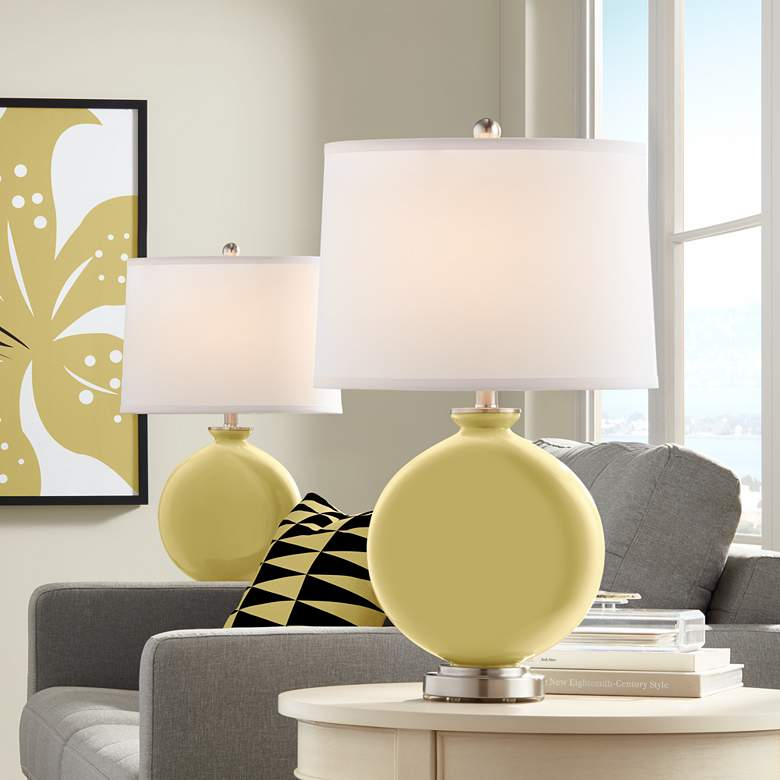 Butter Up Carrie Table Lamp Set of 2