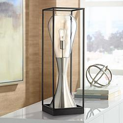Possini Euro Martin Modern LED Console Table Lamp