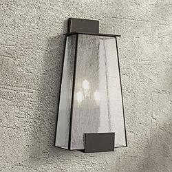 "Bistro Dawn 22"" High Dakota Bronze Outdoor Wall Light"