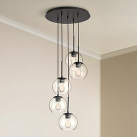 the latest 7c5c6 8bd4d Contemporary, Multi Light Pendant, Chandeliers | Lamps Plus