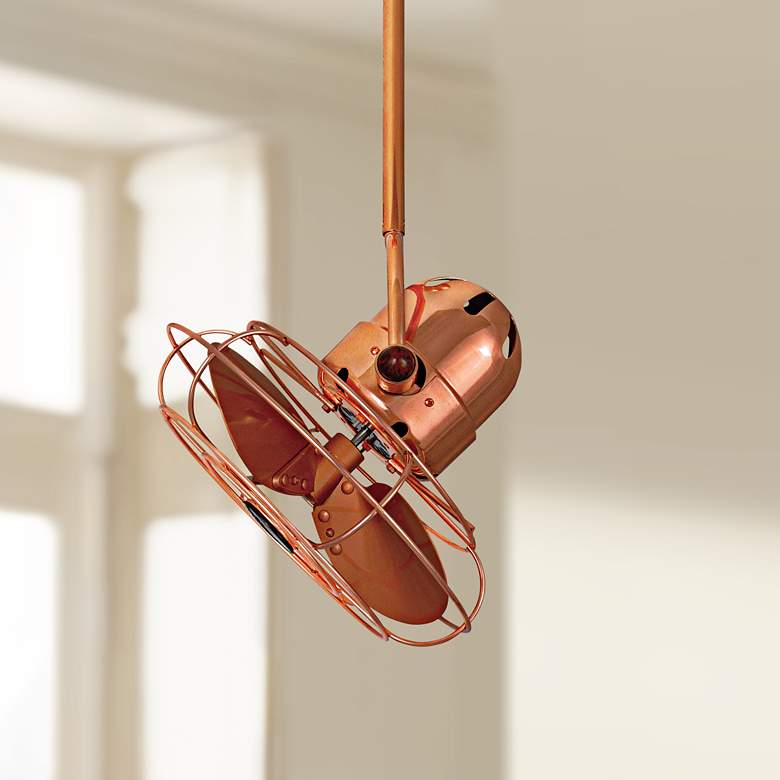 "13"" Matthews Bianca Direcional Copper Ceiling Fan"
