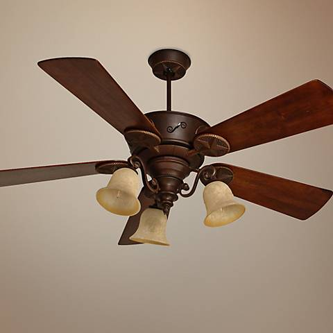 "52"" Craftmade Chaparral Aged Bronze Ceiling Fan"