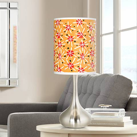 Seastar Giclee Droplet Table Lamp