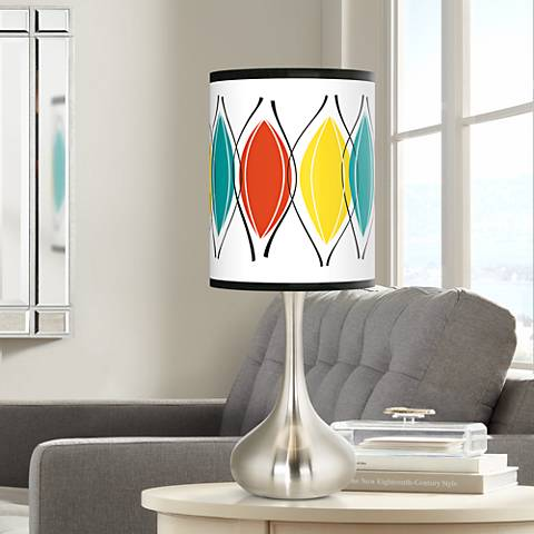 Harmonium Giclee Droplet Table Lamp