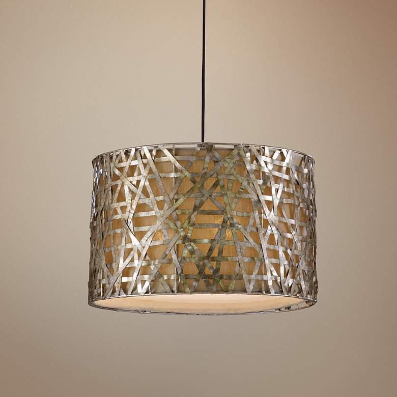 Alita Collection Champagne Hanging Pendant Chandelier