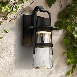 "Modern Forms Balthus 14"" High Bronze LED Outdoor Wall Light"