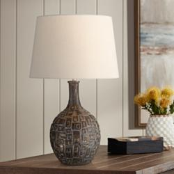 Abby Brown Ceramic Table Lamp