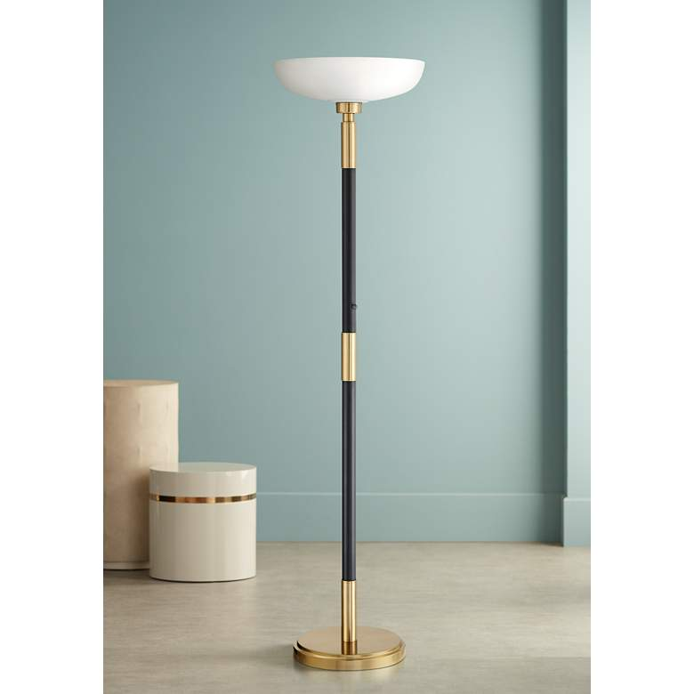 Cameron Light Blaster™ LED Torchiere Floor Lamp