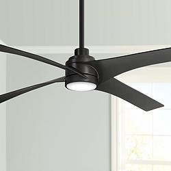 "56"" Minka Aire Swept Kocoa LED Ceiling Fan"