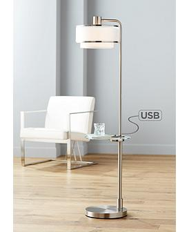 Floor Lamps With Tray Table Lamps Plus
