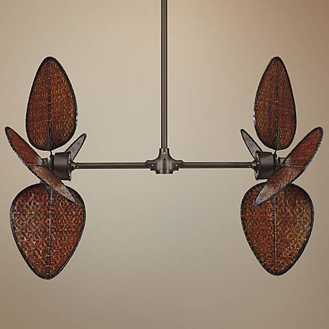 Fanimation Palisade Oil Rubbed Bronze Double Ceiling Fan