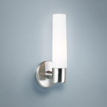 "George Kovacs Saber 12 1/2"" High Brushed Nickel Wall Sconce"