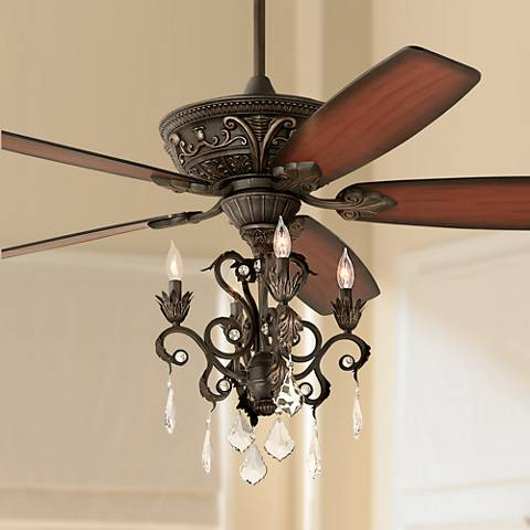 "60"" Casa Montego® Bronze Chandelier Ceiling Fan"