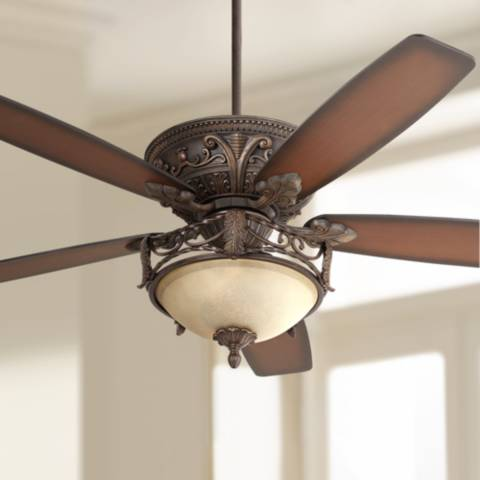 60 Quot Casa Montego Scavo Glass Light Ceiling Fan 56358