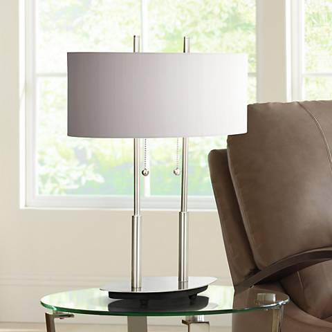 "Bliss 20"" High Modern Accent Table Lamp"