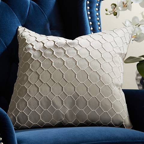 "Juno Birch 20"" Square Throw Pillow"