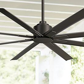 "65"" Minka Aire Xtreme H2O Coal Wet Ceiling Fan"