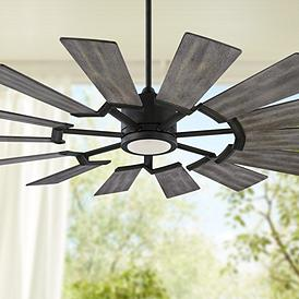 Monte Carlo Western Ceiling Fan With Light Kit Ceiling Fans Lamps Plus