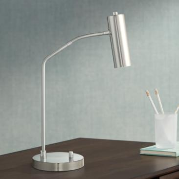 Soprano LED Desk Lamp with Gooseneck
