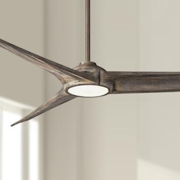 "84"" Minka Aire Timber Heirloom Bronze LED Ceiling Fan"