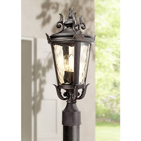 "Casa Marseille™ 20 1/2"" High Bronze Outdoor Post Light"