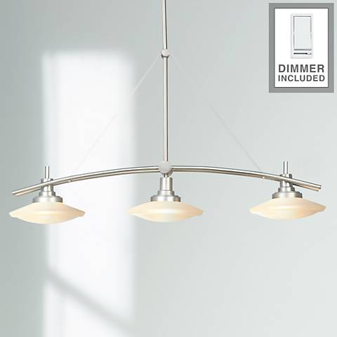 "Structures 37 1/2"" 3-Light Island Chandelier with Dimner"