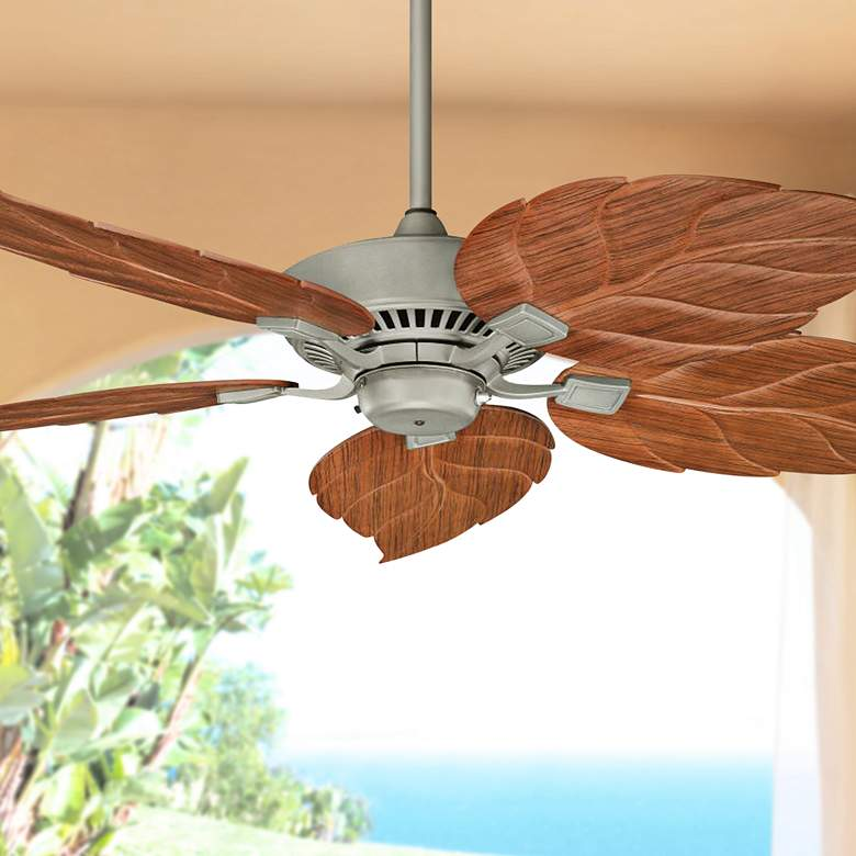 "52"" Canfield Climates™ Silver Outdoor Ceiling Fan"