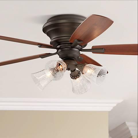 """52"""" Casa San Marin Oil-Rubbed Bronze Hugger Ceiling Fan"""