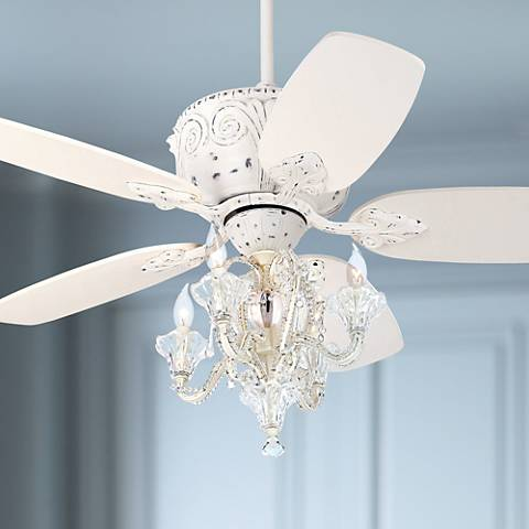 "44"" Casa Deville Candelabra Ceiling Fan with Remote Control"