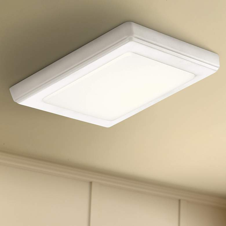 "Kichler Zeo 7"" Wide Square White 4000K LED"