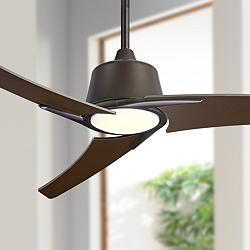 "48"" Casa Vieja® Matrix Oil Rubbed Bronze LED Ceiling Fan"