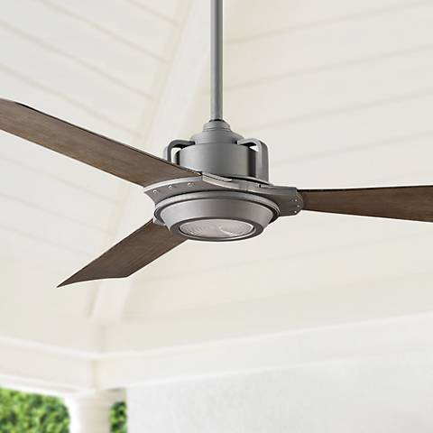 56 Quot Modern Forms Osprey Graphite Led Outdoor Ceiling Fan