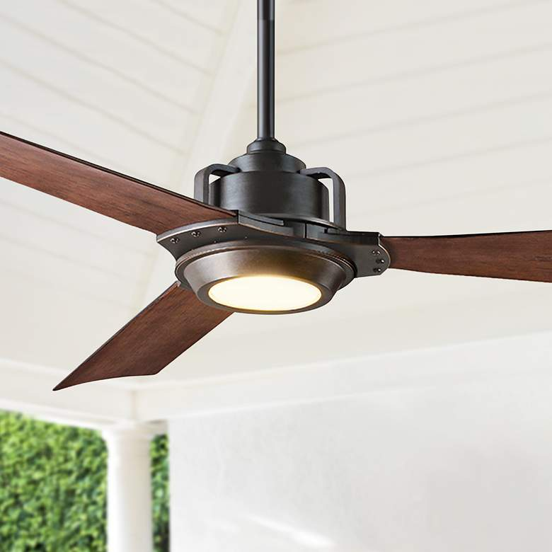 "56"" Modern Forms Osprey Bronze Wet LED Ceiling"