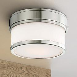 "Hudson Valley Gemma 5""W Polished Nickel LED Ceiling Light"