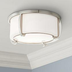 "Hudson Valley Talon 12 3/4""W Polished Nickel Ceiling Light"