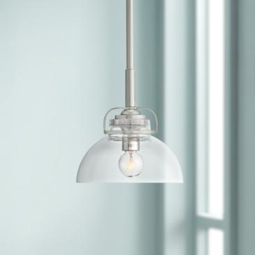 "Calpella 6 1/2"" Wide Clear Glass Mini Pendant Light"