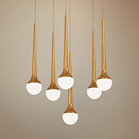 Multi Light Pendant Lighting Fixtures